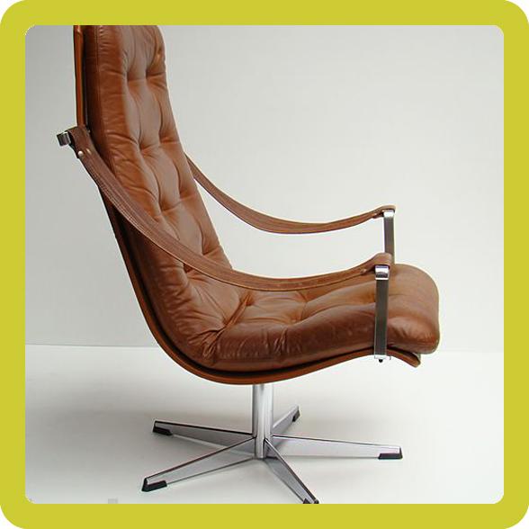 artifort lounge leder sessel geoffrey harcourt 60s 60er ebay. Black Bedroom Furniture Sets. Home Design Ideas