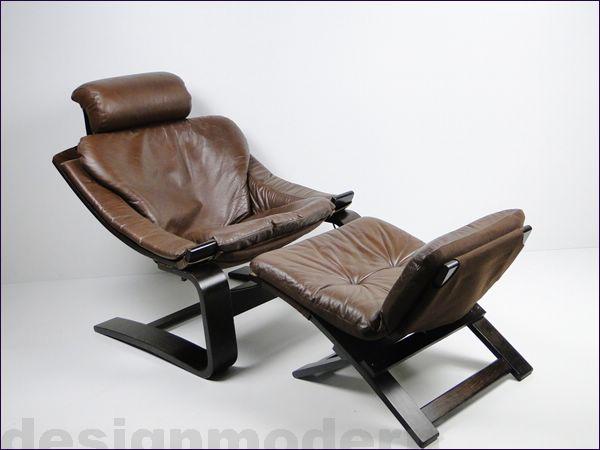 leder lounge chair sessel ottomane kroken von nelo. Black Bedroom Furniture Sets. Home Design Ideas