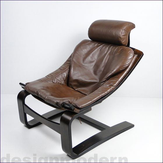 leder lounge chair sessel ottomane kroken von nelo. Black Bedroom Furniture Sets. Home Design Ideas
